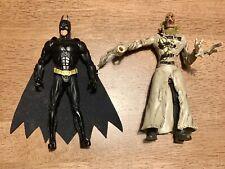 Batman Begins Batman & Scarecrow ~5in Action Figures