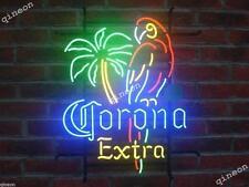 New Style Corona Extra Parrot Bird Left Palm Tree Neon Sign Beer Bar Light