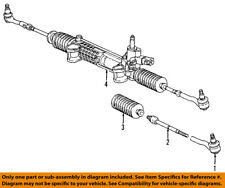 Mercedes MERCEDES-BENZ OEM 96-03 E320 Steering Gear-Outer Tie Rod End 2103380615