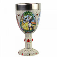 More details for disney beauty and the beast decorative goblet 6007188 - new & boxed