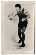 More details for union jack - 'monarchs of the ring' (1923) - card #3 - kid lewis