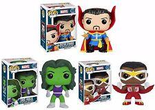 Doctor Strange Falcon She Hulk Classic Marvel Avengers Funko Pop! 3 Figures Dr.