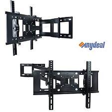 """STAFFA di montaggio a parete TV Tilt & Swivel Per Samsung Sony Lg Panasonic 30"""" ~ 60"""" pollici"""
