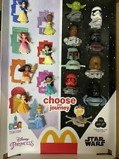 2021 McDONALD'S Disney's Princess or Star Wars HAPPY MEAL TOYS Or Set