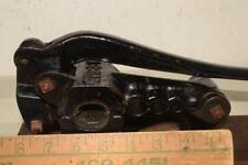 Antique GYPSY Cast Iron APOTHECARY Druggist CORK PRESS Mechanical BOTTLE CAPPER