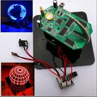 Spherical Rotation LED Kit 56 POV Rotating clock parts + TTL Serial Downloader