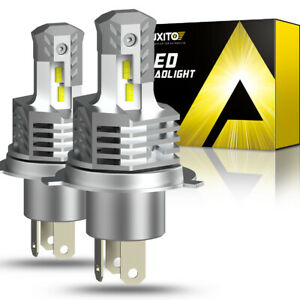 AUXITO H4 9003 LED Headlight Kit Hi/Low Beam Bulb 24000LM Super Bright Lamp 10S