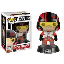 Star Wars Force Awakens POP Poe Dameron Bobble Head Vinyl Figure NEW Toys