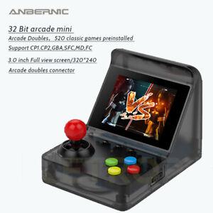 Anbernic Arcade Mini 32 Bit Retro Game Console Handheld Classic 520 Games Gift