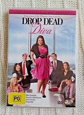 DROP DEAD DIVA -  SEASON  1 – DVD, 3-DISCR-4, LIKE NEW, FREE POST IN AUSTRALIA