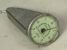 As Is Federal Testmaster Jeweled T 6 Dial Indicator 0001 Measure Tool