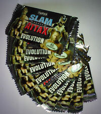 LOT 10 BOOSTER CARTE CATCH SLAM ATTAX EVOLUTION NEUF SCELLES