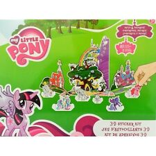 My Little Pony 3-D Sticker Kit Create Build & Decorate your Own Scene