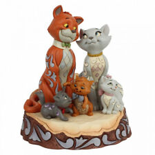 New For 2020 Disney By Jim Shore Carved by Heart Aristocats Figurine 6007057