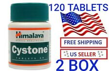 2 PACK 120 TABLETS HIMALAYA CYSTONE PREVENTS THE FORMATION OF KIDNEY STONES USA