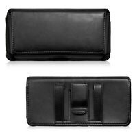 Genuine Leather Case Cover Pouch Holster Belt Clip for iPhone XS/XR 8/7/6 Plus