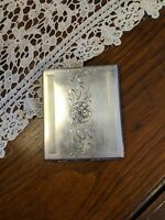 Vintage CCLCC Canada Sterling Silver Calling Card Case 102 grams