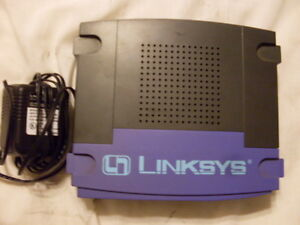 Cisco LINKSYS Etherfast Cable/DSL 4-Port Switch Router 10/100 BEFSR41