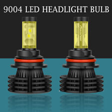 2X 9004 HB1 1800W 295000LM LED Headlight Bulbs Kit XHP-50 Hi/Lo Beam 6000K White