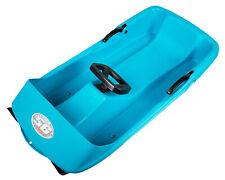 Ondis24 Schlitten Super Bob blau 1 Sitzer für Kinder ab 2 Jahren Rennrodel !NEU!