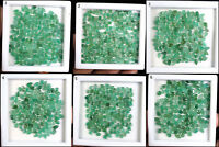 Top Natural Zambian Emerald Pear Cut Loose Untreated Gemstones Wholesale Lots
