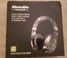 New listing Bluedio Stereo Wireless Bluetooth 4.1 24bit Hd Flexible Headphones