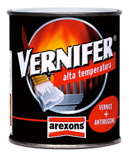Vernifer alta temperatura vernice + antiruggine  400 °C. colore nero satinato