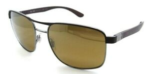 Ray-Ban Sunglasses RB 3660CH 188/A3 58-18-145 Chromance Violet /Bronze Polarized