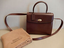 NEW Vintage COACH 2way Bag 4417 Made in ITALY Madison Collection Biltmore Brown