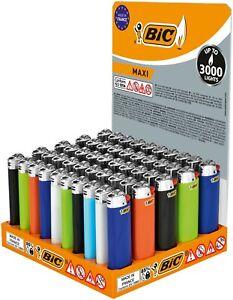 BIC Maxi J26 Feuerzeuge 5 / 10 / 25 oder 50 Stück Original!