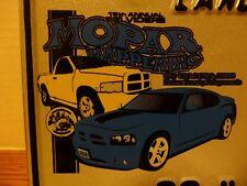 Illinois State License Plate Mopar Happening Dodge Charger Belvedere Ram