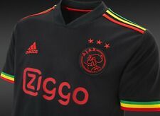 More details for ajax amsterdam 21/22 third jersey bob marley 🟢🟡🔴 three little birds ✅ large