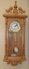 Hermle Oak Wall Clock
