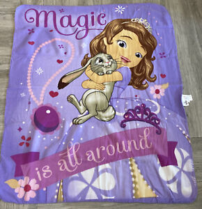 """50"""" by 40"""" Throw Blanket Disney Sofia the First"""