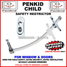 Child Baby Window Door Restrictor Lockable Safety Security Wire Cable by Penkid