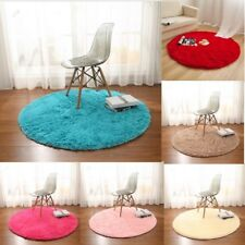 Living room Carpet Bedroom Floor Mat Circle Round Soft Shaggy Area Round Rug