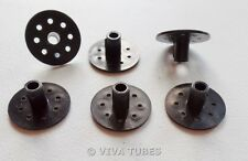 6 Pcs Vacuum Tube Octal Socket Saver Missing Broken Guide Key Fix Repair Keyway