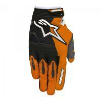 Guanti Adulto Cross Enduro Alpinestars Techstar Mx Gloves Arancio Nero Orange