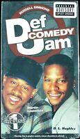 "MARTIN LAWRENCE / D.L. HUGHLEY ""DEF COMEDY JAM  VOL. 1"" 1999 VHS TAPE *SEALED*"