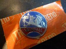 VAUXHALL Original 1960's Quality Gear Knob Lever Badge Key Fob Enamel NOS