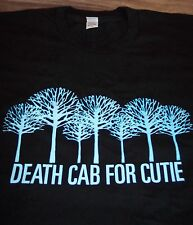 DEATH CAB FOR CUTIE BAND 2006 SPRING TOUR T-Shirt SMALL NEW