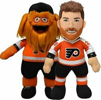 "Philadelphia Flyers Bleacher Bundle: Claude Giroux & Gritty 10"" Plush Figures"