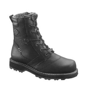 Harley-Davidson Men's Jay 7-Inch Black Motorcycle Boots D96026 13