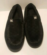 DC Villain Men's Size 12 Black Slip-On Skateboard Loafer Shoes 301361