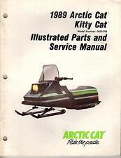 1989 Arctic Cat Kitty Cat Parts & Service Manual p/n 2254-486 (239)