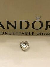 CLEARANCE!!! Genuine Pandora 'I Love You' Heart Charm - 791422