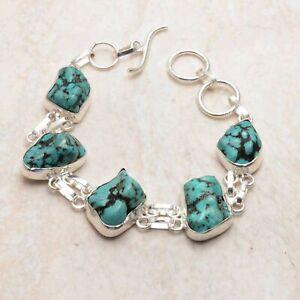 Turquoise Ethnic Handmade Bracelet Jewelry 18 Gms AB 91637