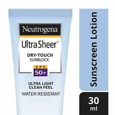 Neutrogena Ultra Sheer Dry Touch Sunblock, SPF 50+ Sunscreen, 30ml