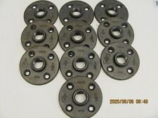 20Pcs 1/2-INCH Floor Flange 4 hole industrial Steel Cast Iron Pipe Fit Decor