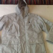 WOMAN'S-LE COQ SPORTIF-ALL WEATHER /PADDED JACKET-SIZE 12-OLD ENGLISH WHITE-VGC